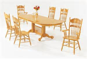 versailles light oak dining room furniture set true