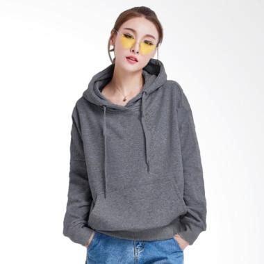 Jaket Sweater Hoodie Zipper Mahameru Untuk Anak Anak jual jaket carlisa variasi topi dan kantong kangguru tangan panjang hoodie sweater wanita abu