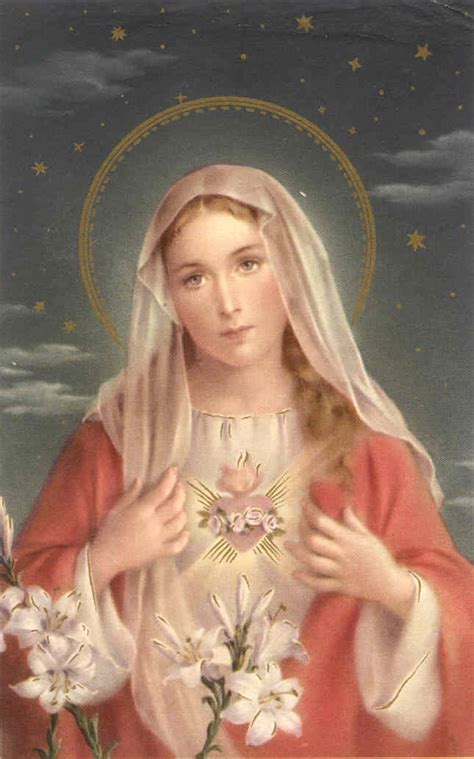 immaculate heart of mary a special rosary for the immaculate heart of mary