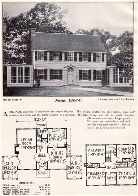 colonial revival house plans colonial revival house interior 1920 colonial