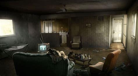 realistic room escape heavy concept