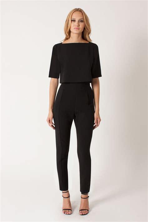 Jumsuit Black 22 simple jumpsuit playzoa