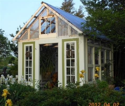 Garden Shed Windows And Doors by Re Purposed Windows And Doors