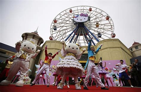 Lu Tempel Hellokitty largest hello indoor theme park coming to shanghai in 2018 thatsmags