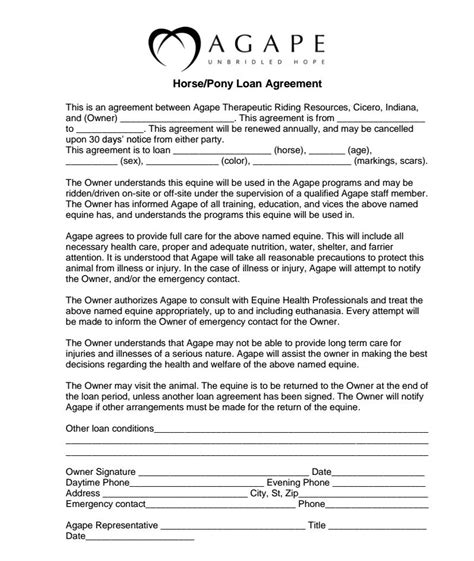 Lease Agreement Notice Period So You Think You Want To Be A Therapeutic Trial Horses Part 2 Trial Period And