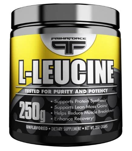 creatine l leucine primaforce l leucine powder 250 g jet