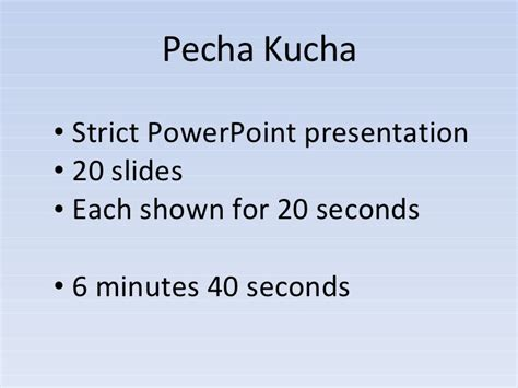 pecha kucha powerpoint template pecha kucha strict powerpoint presentation