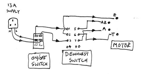 wiring up a crompton single phase lathe motor