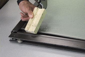Removing Sliding Glass Door How To Replace A Sliding Glass Door Roller Swisco