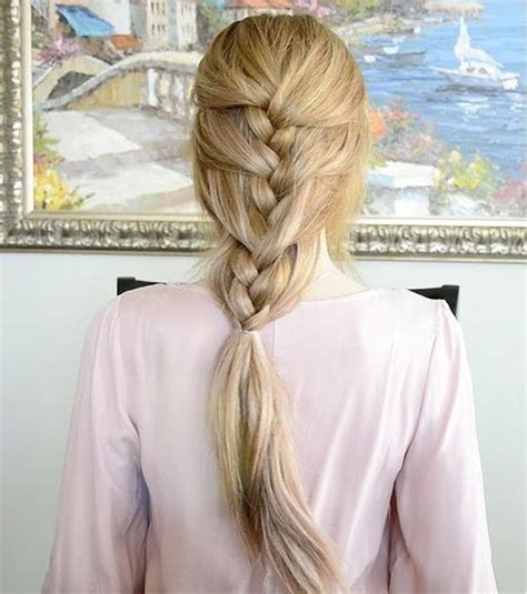 plait at back of hairstyle 30 elegant french braid hairstyles