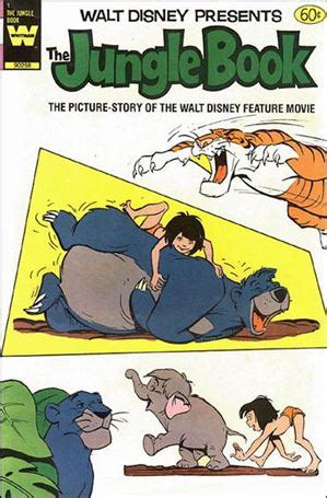 walt disneys the jungle 0394825608 walt disney presents the jungle 1 d jul 1984 comic book by gold key