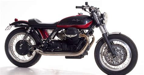 moto guzzi sp1000 cafe racer de officine rossopuro ϟ hell kustom ϟ moto guzzi sp1000 by officine rossopuro