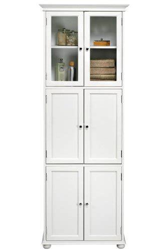 Hton Bay 6 Door Tall Storage Cabinet Six Door White