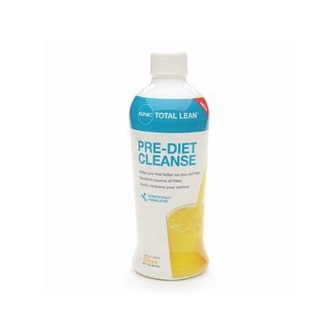 Complete Detox Gnc by Gnc Total Lean Pre Diet Cleanse Reviews Find The Best