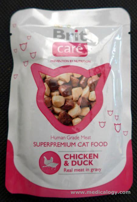 Makanan Kucing Murah Cat Food Optima Chicken Dan Salmon 9 07kg jual makanan kucing brit care premium cat food chicken duck 80 g murah