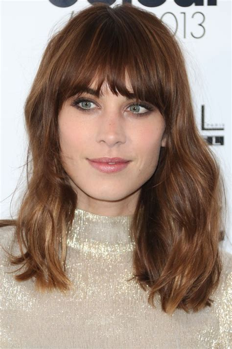 Fringe Hairstyle by 25 Best Fringe Hairstyles To Refresh Your Look