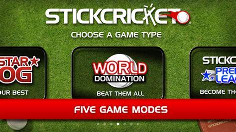 stickman games full version apk stick cricket 1 2 3 apk full version download the apk mod