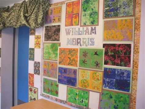 ideas for ks2 art william morris inspired lino prints designs etched onto