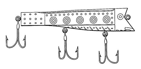 coloring pages fishing lures fishing lure coloring pages murderthestout