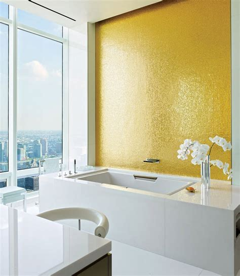 bagni di colore bagno con pavimenti e rivestimenti in mosaico 100 idee
