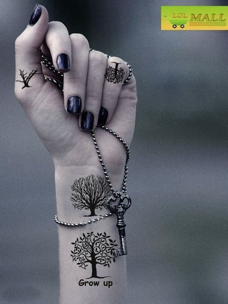 tree of life wrist tattoo 25 tree of tattoos on wrists