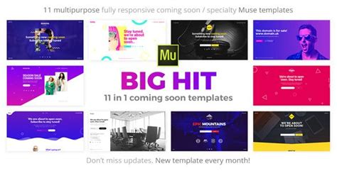 adobe muse mobile templates adobe muse mobile templates new bighit 11 in 1 ing soon