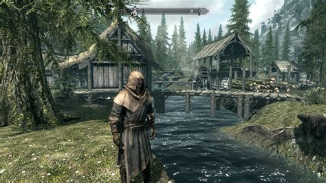 skyrim ultra graphics mod how good does skyrim look on pc a visual comparison