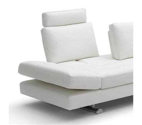 contemporary leather sofas italian dreamfurniture com 950 contemporary italian leather