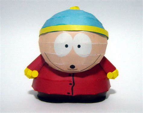 South Park Papercraft - south park paper models papermodelers