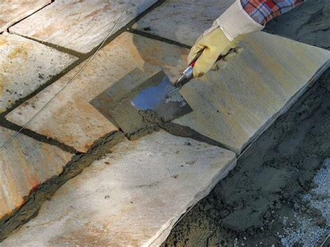 steinplatten verlegen auf beton 6017 so verlegen sie terrassenplatten aus naturstein bauhaus