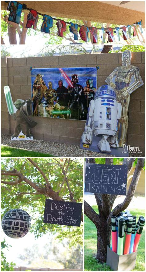Wars Decorations Outdoor Wars Jedi Birthday