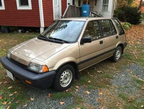 cc for sale 1987 honda civic wagon with 42 557