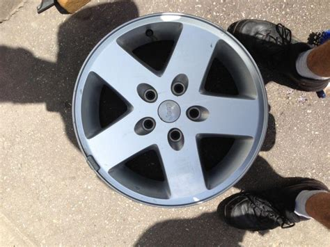 17 Inch Jeep Rims Purchase 17 Inch 07 12 Jeep Wrangler Alloy Factory Oem
