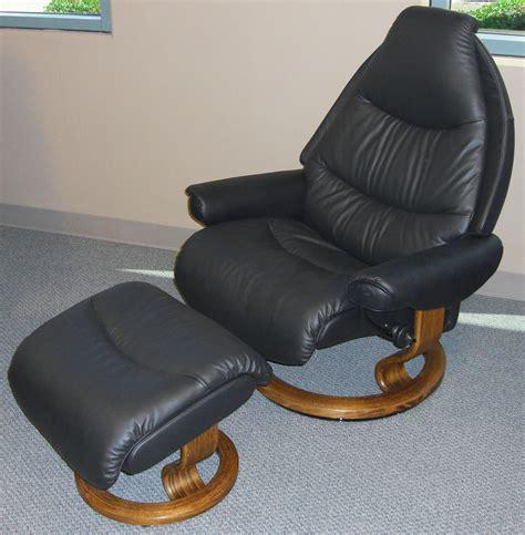 stressless voyager recliner stressless voyager paloma black leather by ekornes