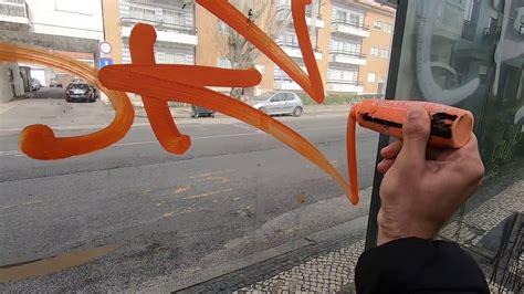 street tagging  bombing solo mission graffiti