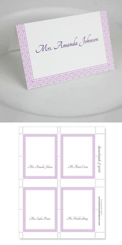 microsoft word place card template template business idea
