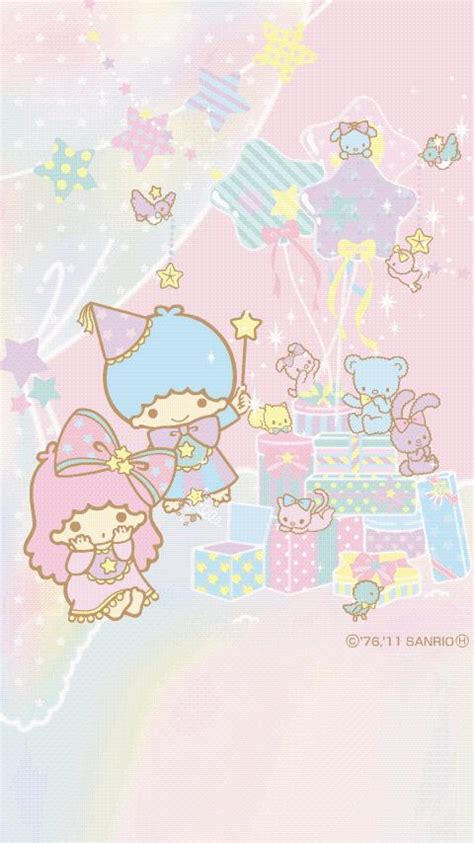theme line android little twin star sanrio characters live wall 3 android apps on google play