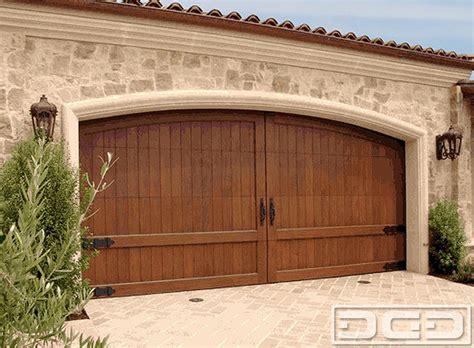 Garage California California 15 Custom Made Wood Garage Door In A