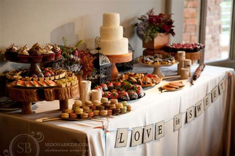 Snack Table Ideas by Snack Table Wedding Reception Food Ideas