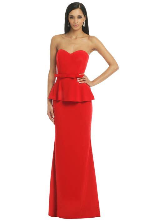 Blus Karmila Peplum best 25 peplum gown ideas on peplum dress