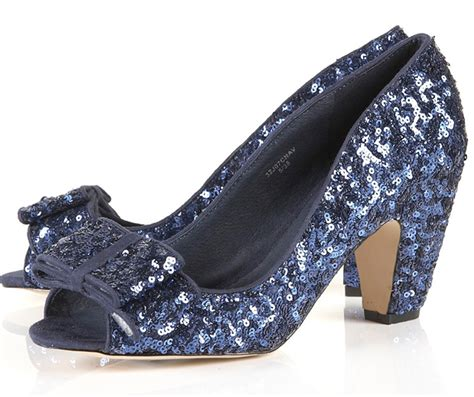Topshop Bow Front Peep Toes look topshop s glitter bow peep toe shoes look