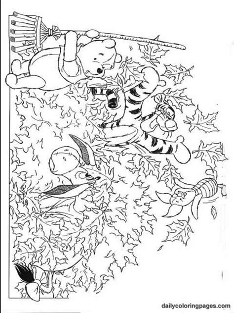 disney autumn coloring pages autumn coloring pages winnie the pooh fall coloring
