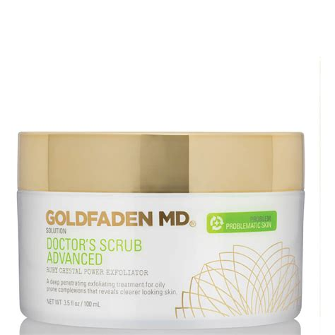Goldfaden Md Detox Mask Review by Goldfaden Md Doctor S Scrub Ruby Microderm