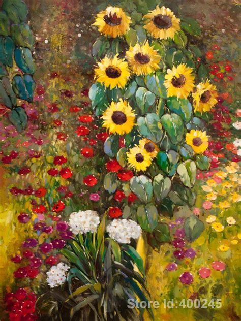 gustav klimt flower garden acquista all ingrosso flower garden klimt da