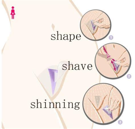how to shave pubic hair in heart shape bikini trimmer intimrasur schablone rasierer herz dreieck