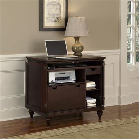 Compact Computer Cabinet by Home Styles 554 Bermuda Compact Computer Cabinet