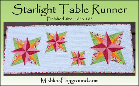 table name pattern jdbc starlight table runner by mishka craftsy