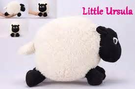 Shaun The Sheep Timmy 40cm boneka shaun the sheep ursula