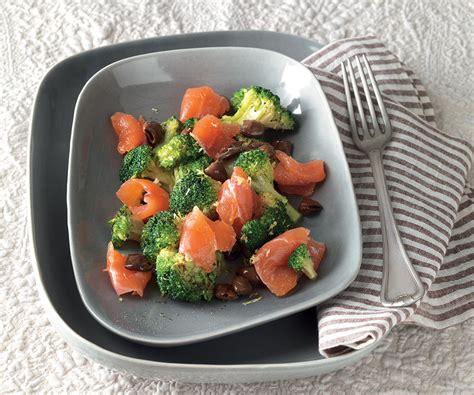 ricette per cucinare la trota ricetta trota in salagione con broccoli la cucina italiana