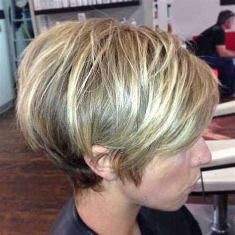 stacked bob pixie haircuts best 25 long stacked haircuts ideas on pinterest